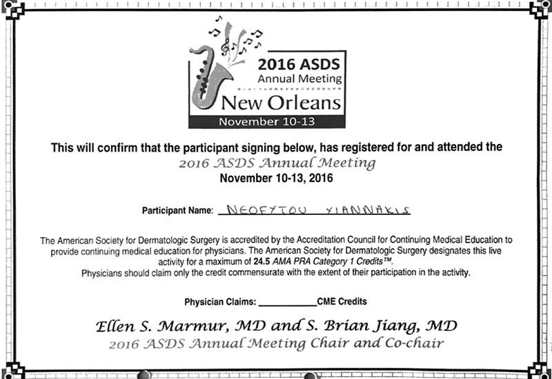 2016 Annual Meeting ASDS