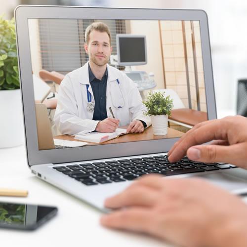 Online dermatologyl examination product